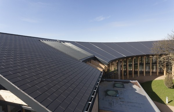 Rivendale Blue Black 600 X 300 Slates Roofing Tiles