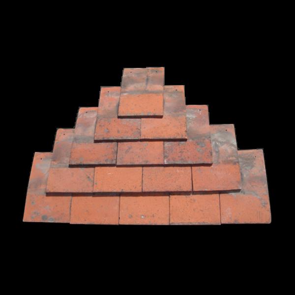 Machine made clay plain tile