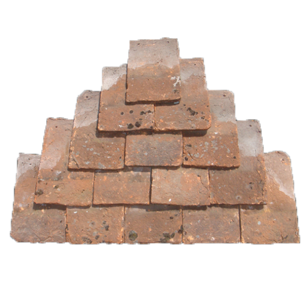 Swallows hand made clay plain tile