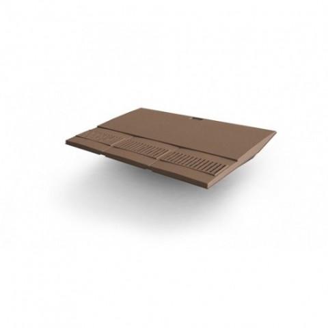 Glidevale In-line® Housebuilder Plain Tile Vent – Brown