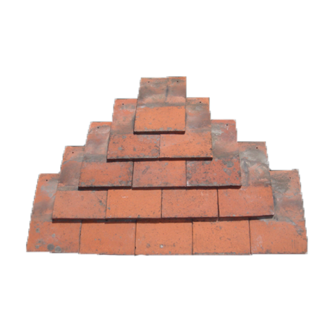 Machine made clay plain tile