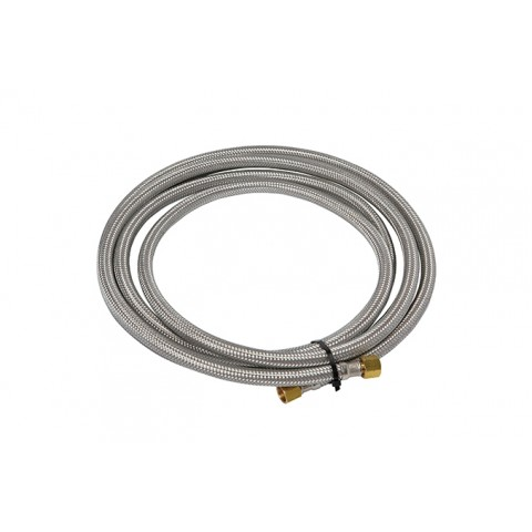 5m Lenght Armoured Hose Inc Crimps And Fittings