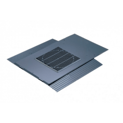 Glidevale In-line® 500 X 250mm Slate Ventilator – Blue/Black Smooth