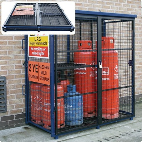 Folding Gas Cage