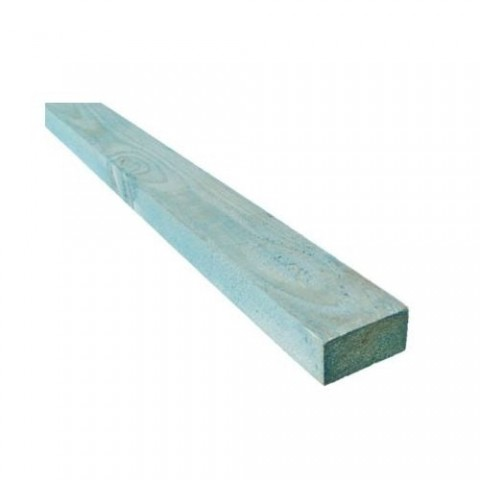 25mm x 50mm Blue Treated Roofing Batten - per Linear Metre