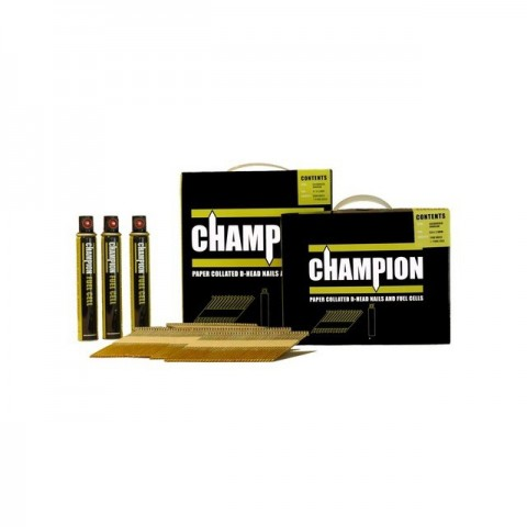 63×3.1mm CHAMPION RG Galvd Fuel Pack