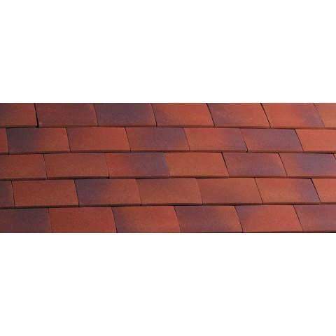 Hawkins Clay Roof Plain Tile – Dark Heather 3023