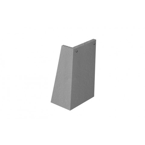 Marley Concrete plain external angles
