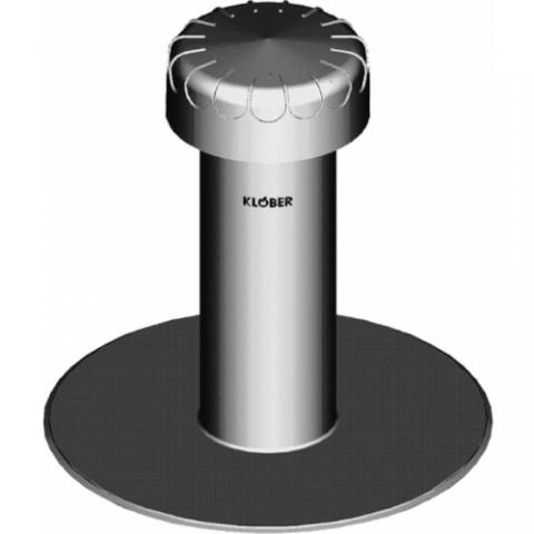 Klober KF6010 Breather Vent PVC 100mm