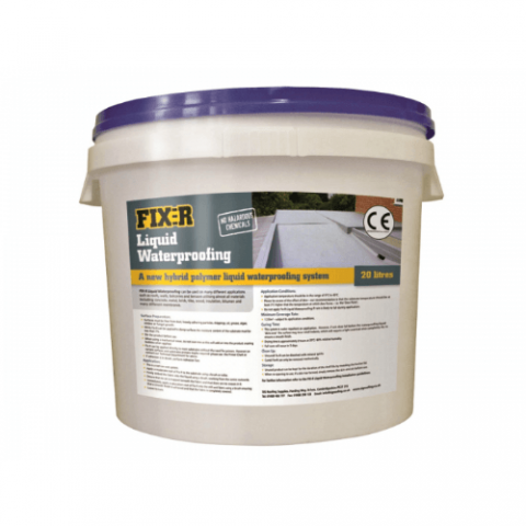 Fix-R Liquid Waterproofing System