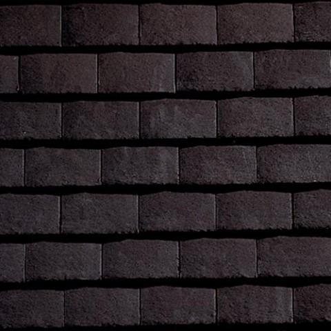 Plain Tile Dark Grey Smoothfaced